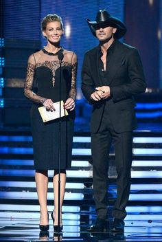 Highlights From the 2013 Grammys!: Justin Timberlake performed for the crowd.  : Faith Hill and Tim McGraw performed together.