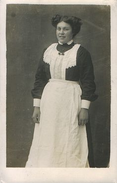 Edwardian maid.