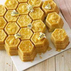 Honeycomb Pan baked honey cakes !!!!