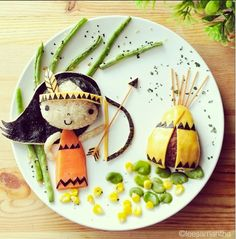 25 great food art ideas for kids!