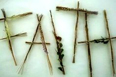 twig & natural elements words - pottery barn knock-off  *********************************************  BalancingTheDream - #twig #natural #letters #word #crafts t√