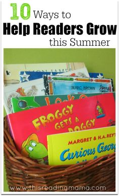 10 ways to help your kids become better readers this summer