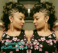 Crochet Braids In Houston Tx : Braided cochet mohawk. Faux hawk. Crochet braids. Crochet curls ...