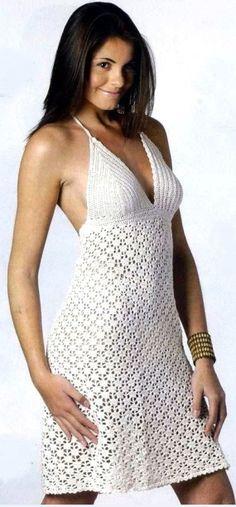 Летнее платье крючком.♪ ♪ ... #inspiration_crochet #diy GB