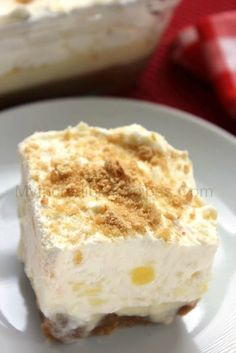 Pineapple Lush Dessert! – Incredible Recipes From Heaven