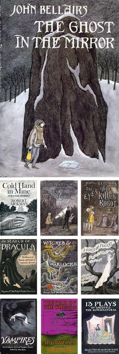 Edward Gorey Book Covers