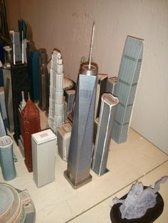 The new One World Trade Center replica from InFocusTech sitting pretty in my collection