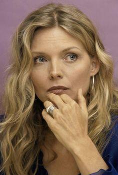 K Michelle Blue Hair Styles Michelle Pfeiffer: Light Summer Celebrity /// hair: ash blonde, light ...