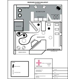 Store layout retail interiors pinterest floor plans for Clothing store floor plan layout