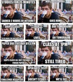 true college life