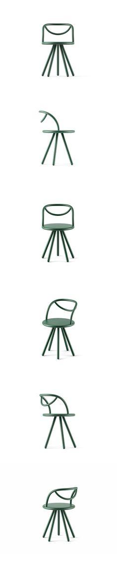 Ray chair by Lera Moiseeva #design #chair