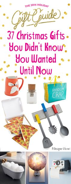 Awesome Products: Holiday Gift Guide – 37 Christmas Gifts You Didn't Know You Wanted Until Now
