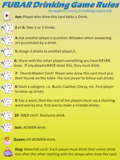 drinking dice games rules