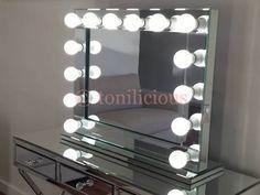 Dim your lit vanity to the perfect brightness Mirror, Mirror Pinterest Vanities, To The ...
