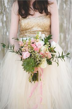 Pretty pink and gold wedding ideas - Captured By: Lovestruck by Nicole Marie