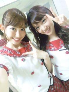 Old-school Harunyan and Yuko #AKB48