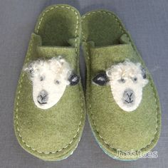 Joe's Toes - Make your own sheep slipper kit from Joe's Toes in wool felt