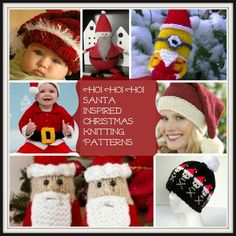 Ho! Ho! Ho: 14 Santa Inspired Christmas Knitting Patterns - Because of the joy Santa brings us, we've dedicated a collection of projects to him with our Ho! Ho! Ho: 14 Santa Inspired Christmas Knitting Patterns.Whether you love DIY holiday decorations, are looking for homemade gifts, or want to learn how to make toys like Father Christmas himself, you will love these fun and adorable Christmas ideas.