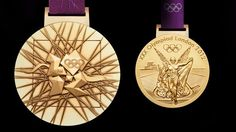 London 2012 Olympic gold medal designed by David Watkins