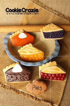 Love these pie cookies!