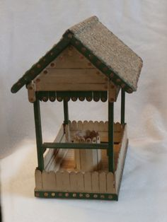 Clothes Pin Wishing Well  CraftMeister MCUniverse  fairy inspiration ...