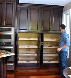 Wall Pantry Design Ideas, Pictures, Remodel, and Decor - page 5