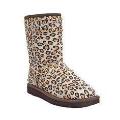 Jimmy Choo Ugg Kaia Leopard