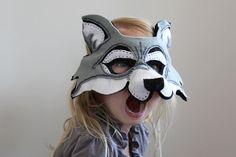 oxeyedaisey's felt wolf mask