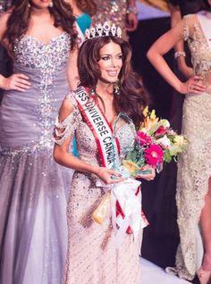 big pageant wedding hair (Sahar Biniaz , Miss Universe Canada)