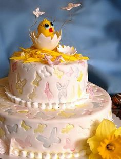 Easter Cake Decorating Challenge : Crafts with beads. Handmade website Easter crafts ...