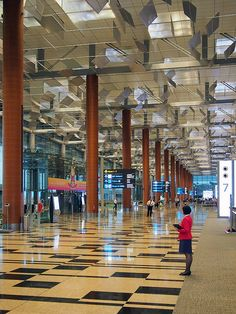 Singapore Sightseeing: Changi International Airport