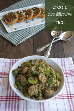 Creole cauliflower quot rice quot easy way to spice up traditional cauli rice