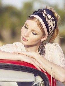 Paint Splatters Turban- Style Headband Tichel