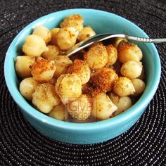 Chickpeas As Street Food | giverecipe.com | #chickpeas #snack #spicy