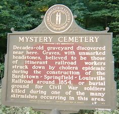 the Mystery Cemetery located on KY 245 near its junction with KY 1604