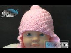 Crochet Baby Cap Okefenokee - Crochet Geek