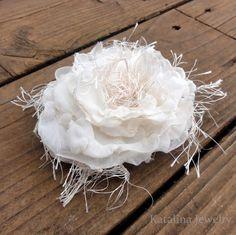 DIY vintage flower
