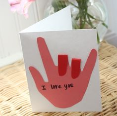 Cute Kid Craft: Cards to give parents/grandparents