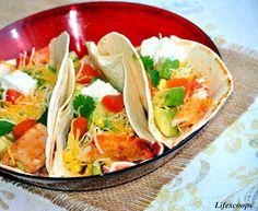 Grilled Shrimp Tacos   Recipe   Shrimp Tacos, Grilled Shrimp and ...