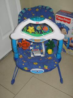 fisher price ocean wonders aquarium high chair 45 king of prussia craigslist baby stuff. Black Bedroom Furniture Sets. Home Design Ideas