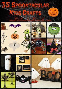 35 Spooktacular Kids Crafts