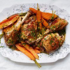 Vinegar-Braised Chicken and Onions Recipe - Bon Appétit