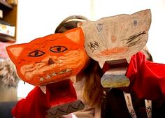 cereal box tiger puppet