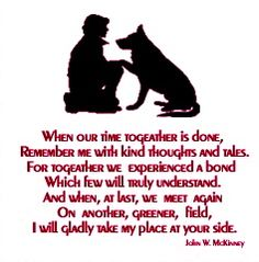 <3 Poem for dog passing away