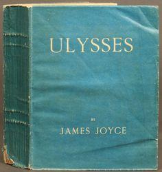 1st ed., Ulysses, by James Joyce. Shakespeare & Co., Paris, 1922