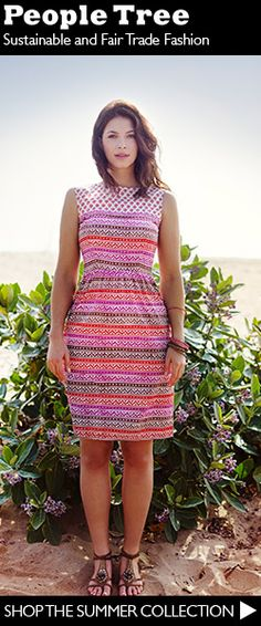 Love People Tree and its sustainable fair trade fashion #fashiontakesaction