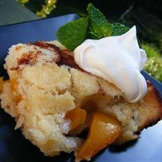 Easy Peach Cobbler Allrecipes.com