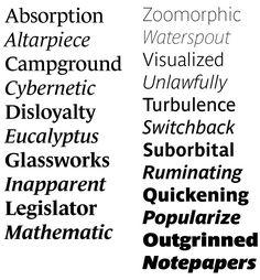 Le Monde Journal + Parisine #typography #fonts