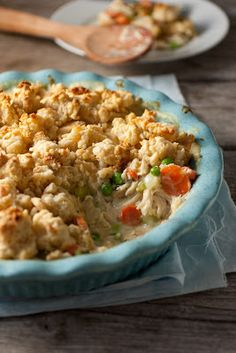 Chicken Pot Pie Crumble - My Favorite Pot Pie - Cooking Classy
