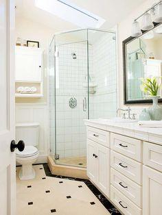 Hardware resources van066d 60 bathroom vanities adler for 7x9 bathroom design